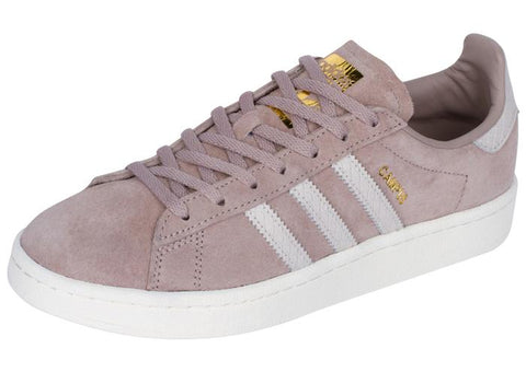 adidas Womens Campus Vapour Grey Pearl Grey Chalk White Angle 1