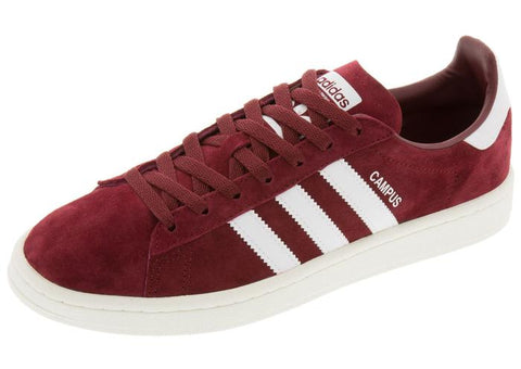 adidas Campus Collegiate Burgundy White Angle 1