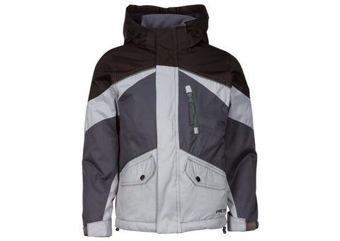 Arctix Childrens Ronan Jacket Cool Grey Angle 1