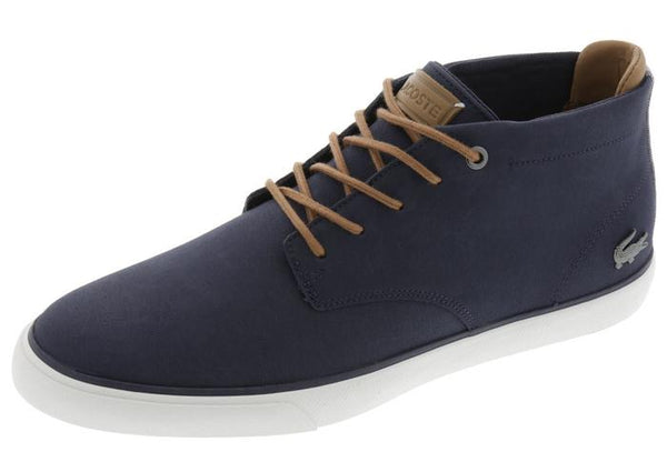 Lacoste Esparre Chukka 118 1 CAM Navy Light Brown Angle 1