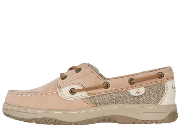 Sperry Kids Bluefish Linen Oat Angle 2