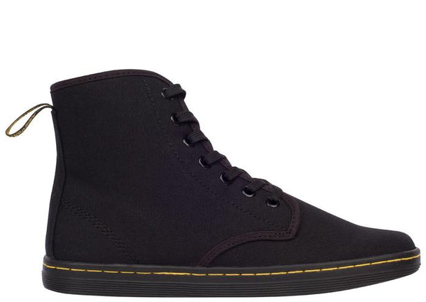 Dr Martens Shoreditch 7 Eye Canvas Black Angle 4