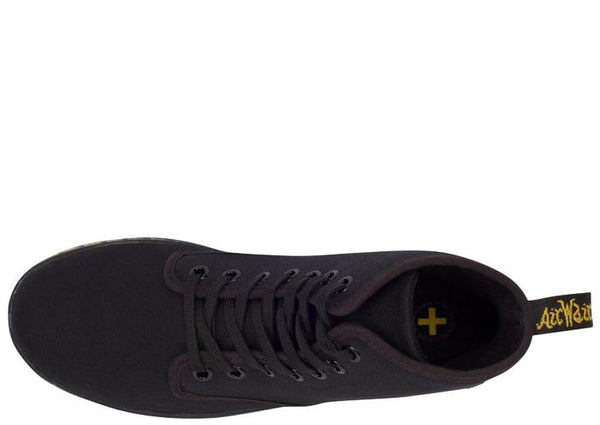 Dr Martens Shoreditch 7 Eye Canvas Black Angle 3