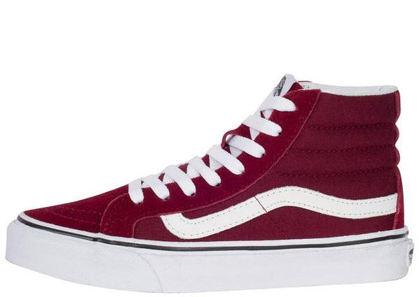 Vans SK8 Hi Slim Windsor Wine Angle 2