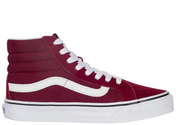 Vans SK8 Hi Slim Windsor Wine Angle 3