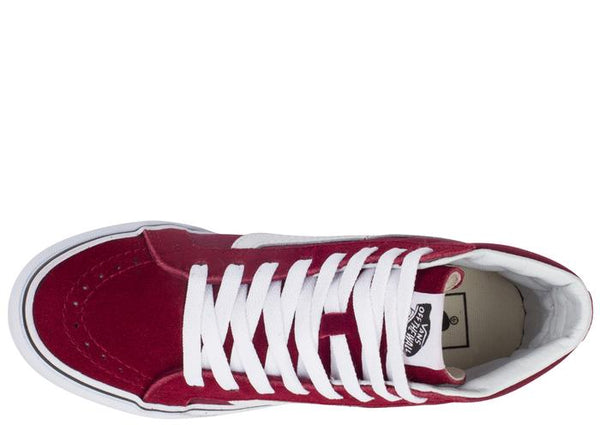 Vans SK8 Hi Slim Windsor Wine Angle 4