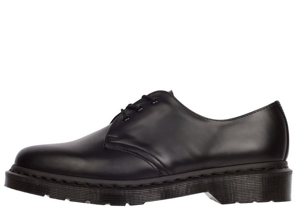 Dr Martens 1461 Mono 3 Eye Smooth Black Angle 4