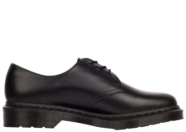 Dr Martens 1461 Mono 3 Eye Smooth Black Angle 2