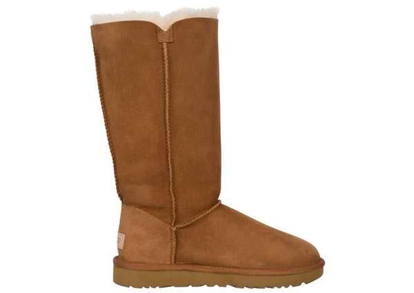 UGG Womens Bailey Button Triplet II Chestnut Angle 4