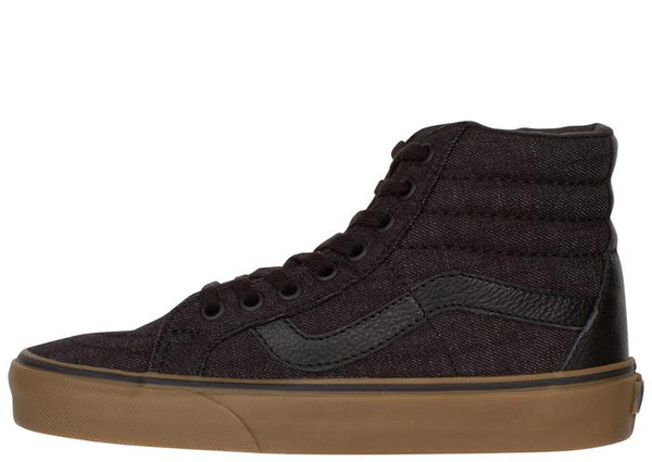 Vans Sk8 Hi Reissue Denim C&L Black Gum Angle 3