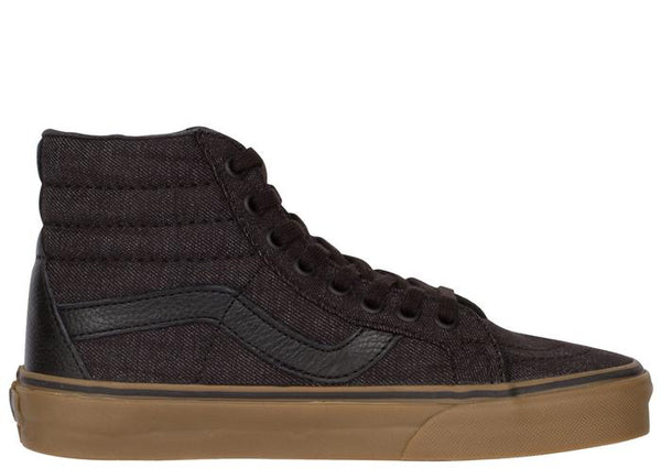 Vans Sk8 Hi Reissue Denim C&L Black Gum Angle 4