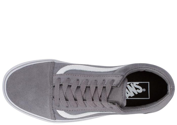 Vans Old Skool Suede Canvas Frost Grey True White Angle 3