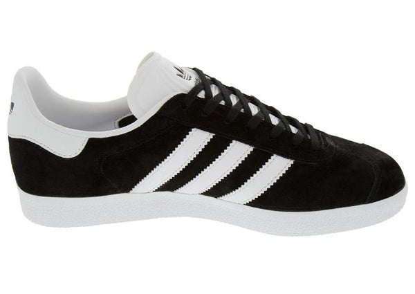adidas Gazelle Black White Gold Angle 2
