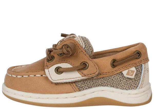 Sperry Infants Songfish Jr. Linen Oat Angle 3