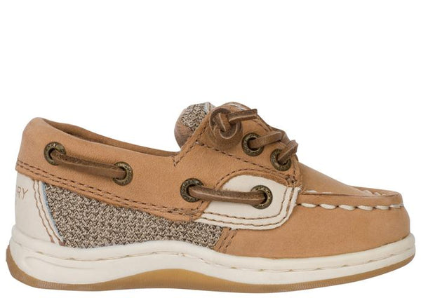 Sperry Infants Songfish Jr. Linen Oat Angle 2