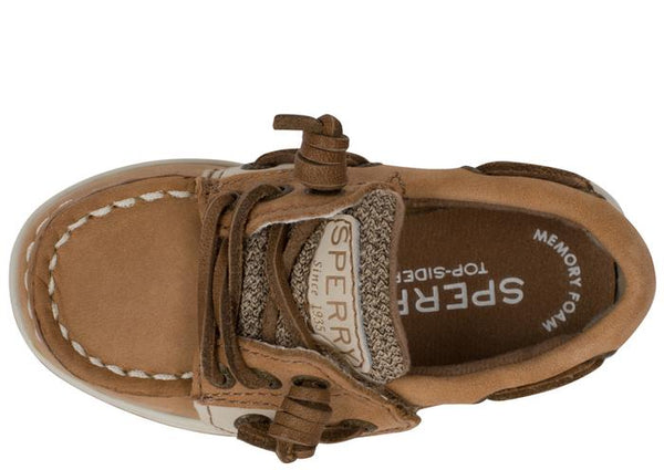 Sperry Infants Songfish Jr. Linen Oat Angle 4