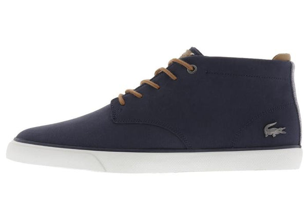 Lacoste Esparre Chukka 118 1 CAM Navy Light Brown Angle 2