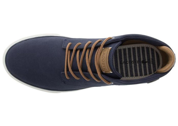 Lacoste Esparre Chukka 118 1 CAM Navy Light Brown Angle 4