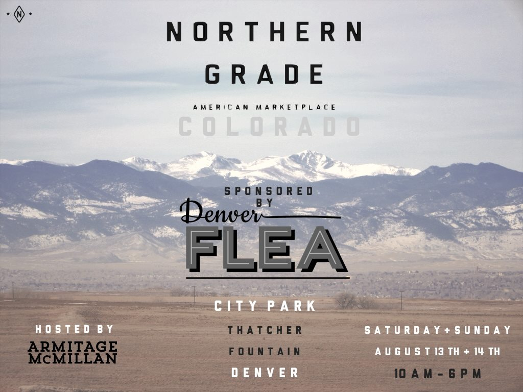 Denver Flea + Northern Grade pop-up market