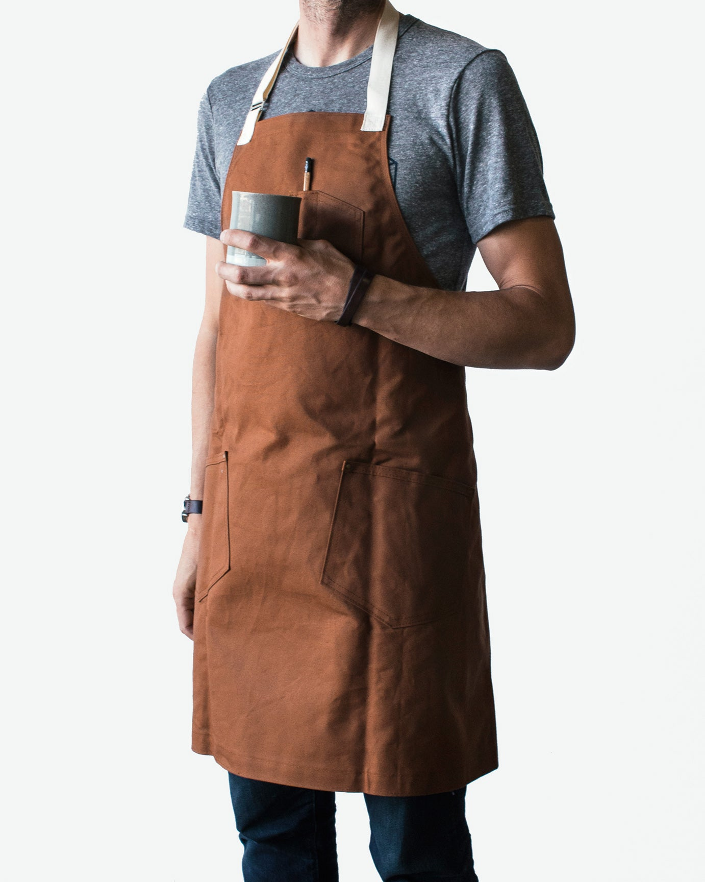 Winter Session Canvas Shop Apron