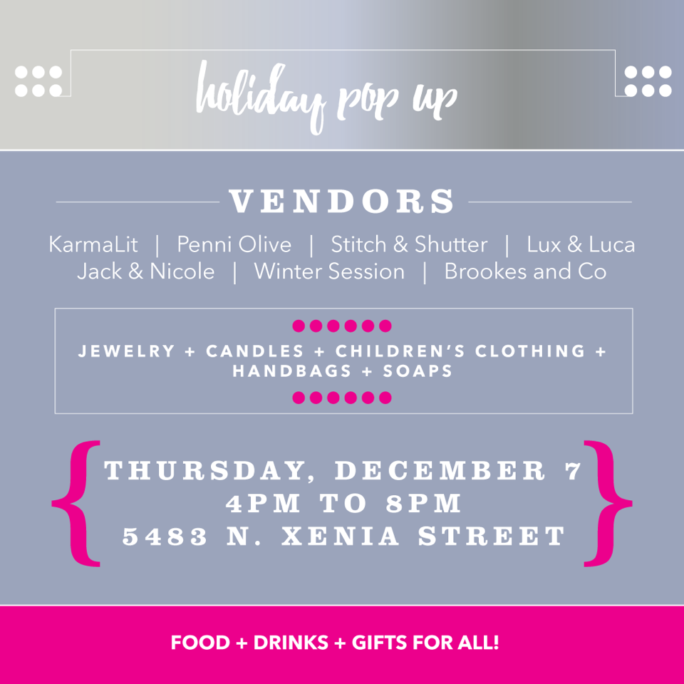Holiday Pop-up with karmalit