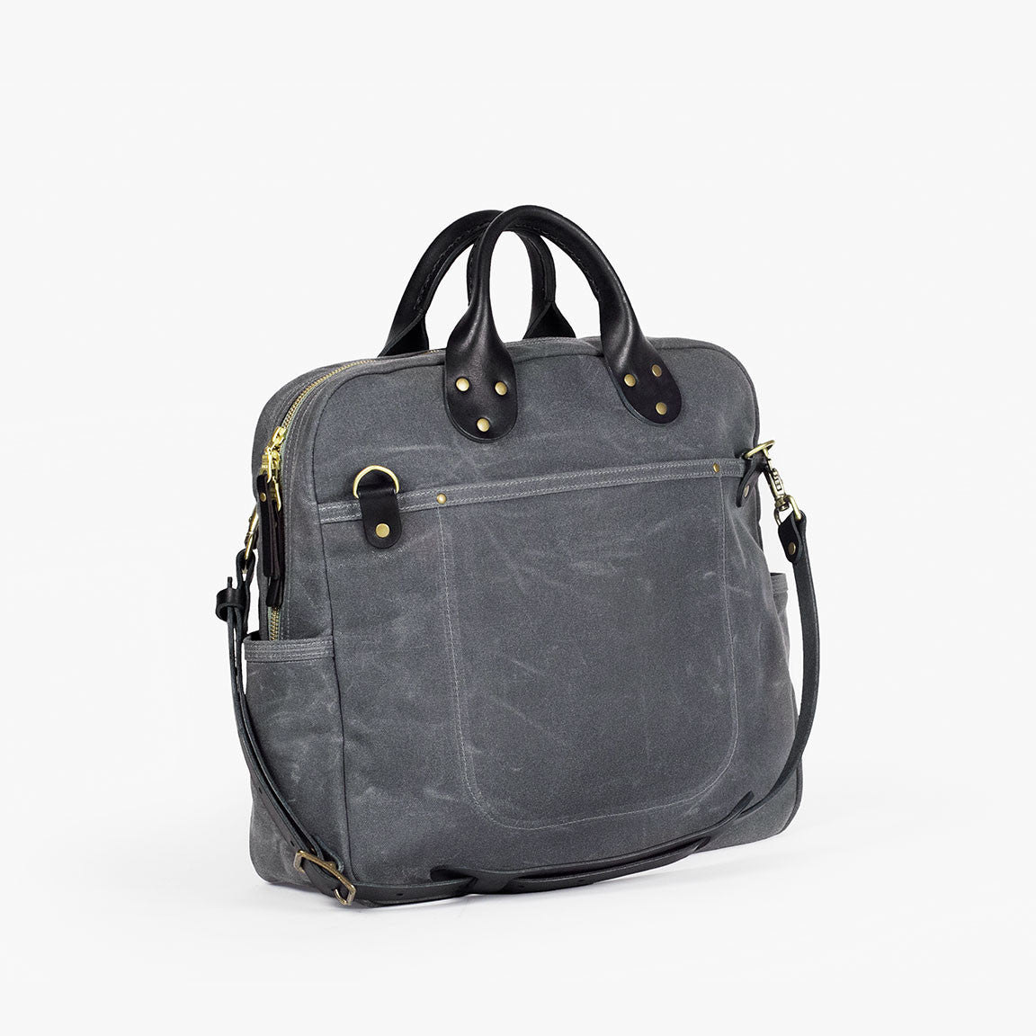Waxed Canvas Travel Day Bag Winter Session