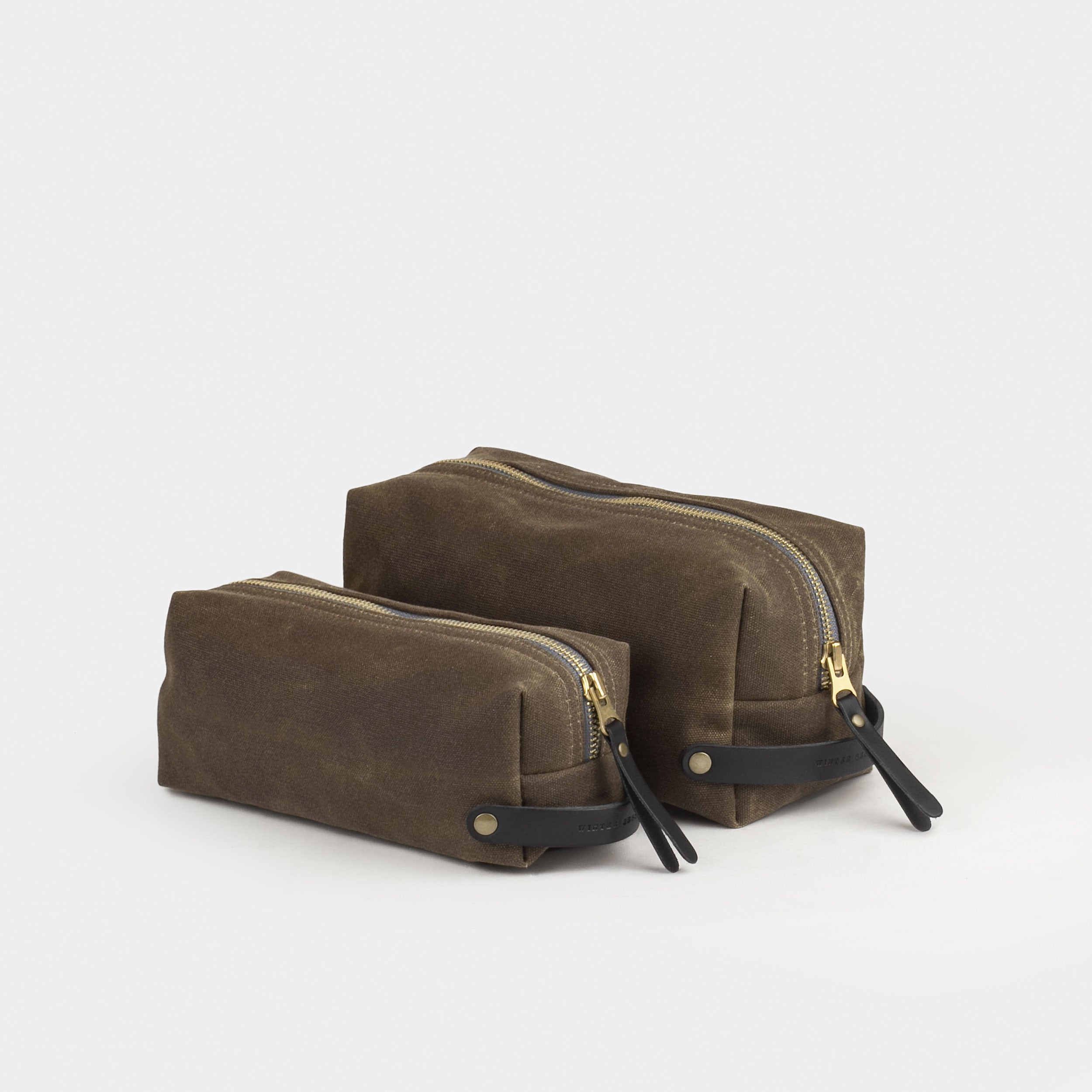 f6dcc7a4808c Waxed Canvas Dopp Kit – Winter Session
