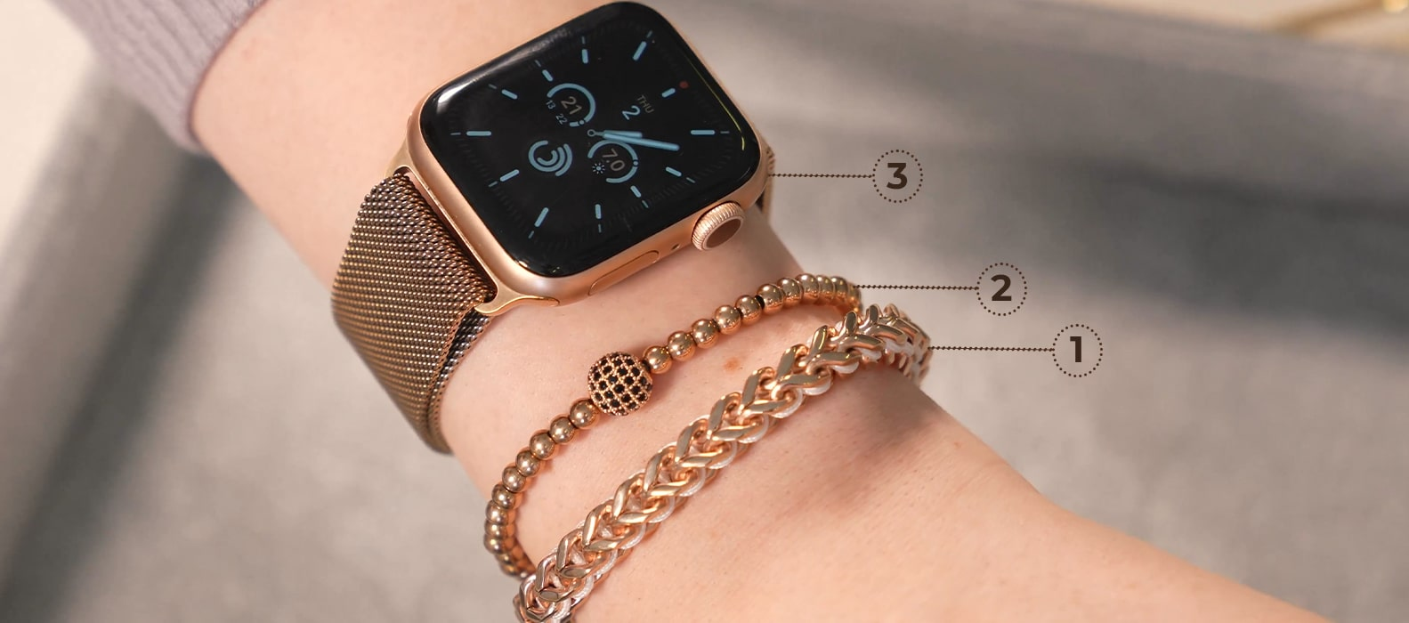 NOGU How to Stack and Style Your Handmade Jewelry with Apple Watches and other Accessories (Jewelry Tutorial)