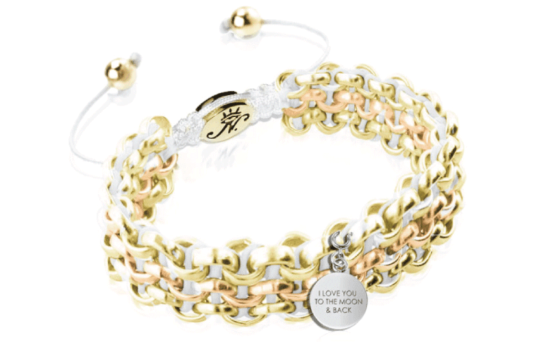 Engravable Kismet Links Bracelet