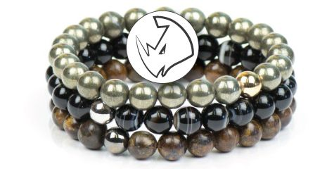 ROCKSTEADY STONE MEN'S BRACELETS