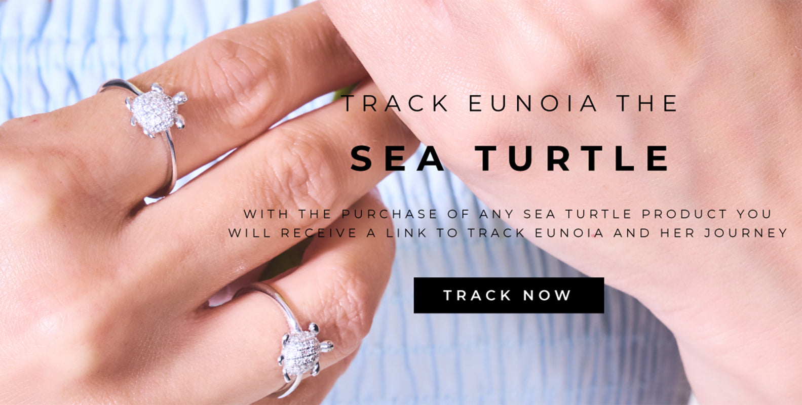 Track our Sea Turtle Eunoia with our Handmade Sea Turtle Jewelry Collection