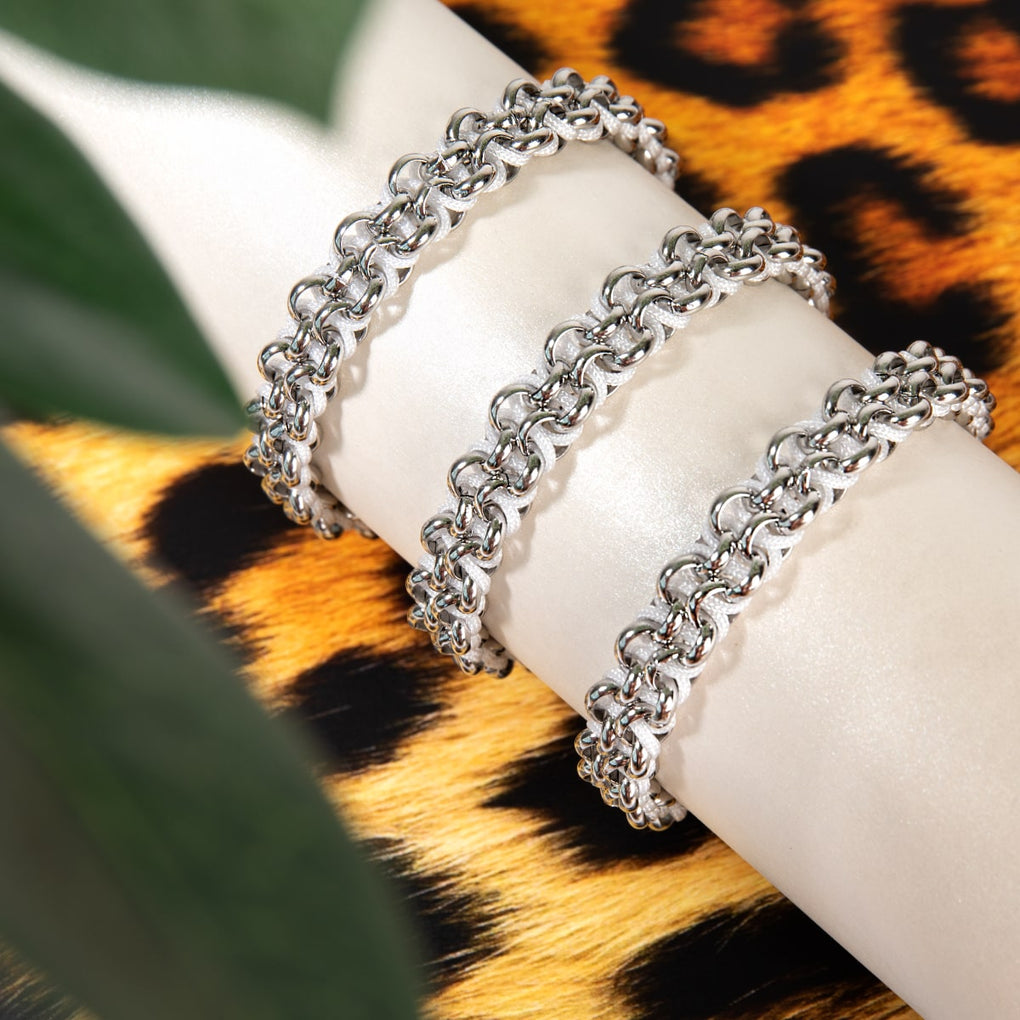 White Rhino Links | White Kismet Bracelet