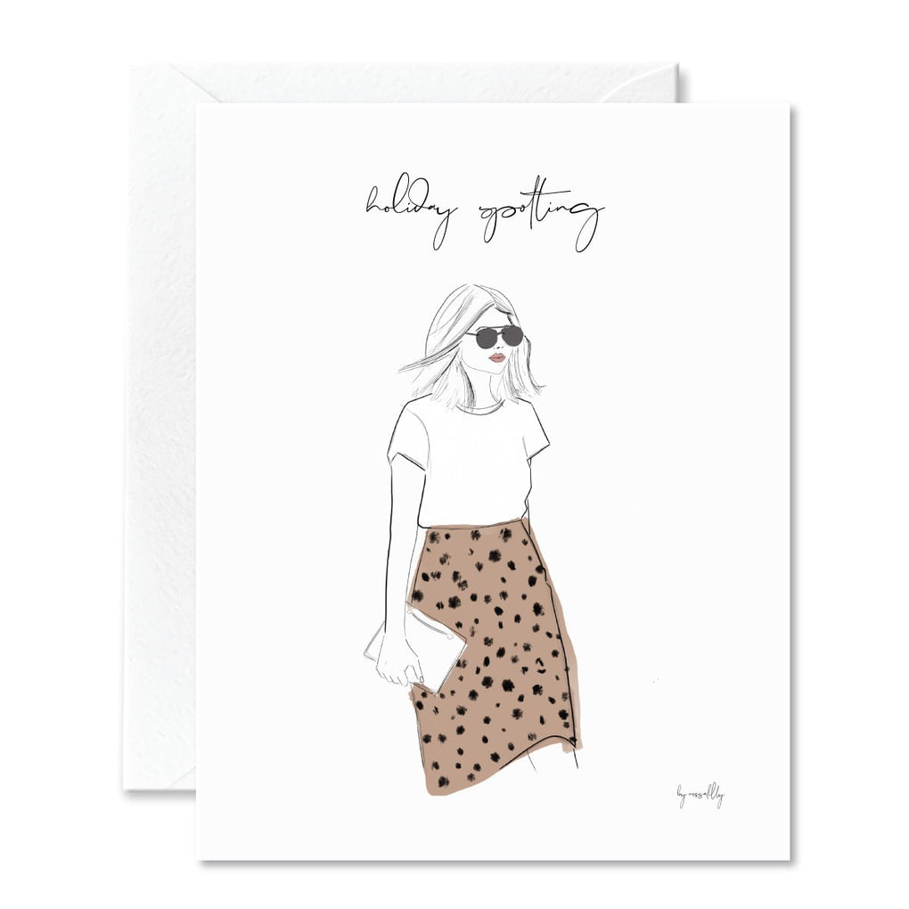 NOGU x Nessa Lilly Holiday Card 3