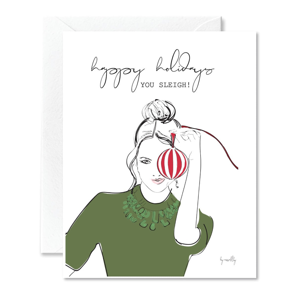NOGU x Nessa Lilly Holiday Card 6
