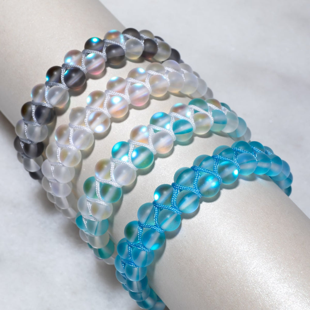 Double Mermaid Glass Bracelet