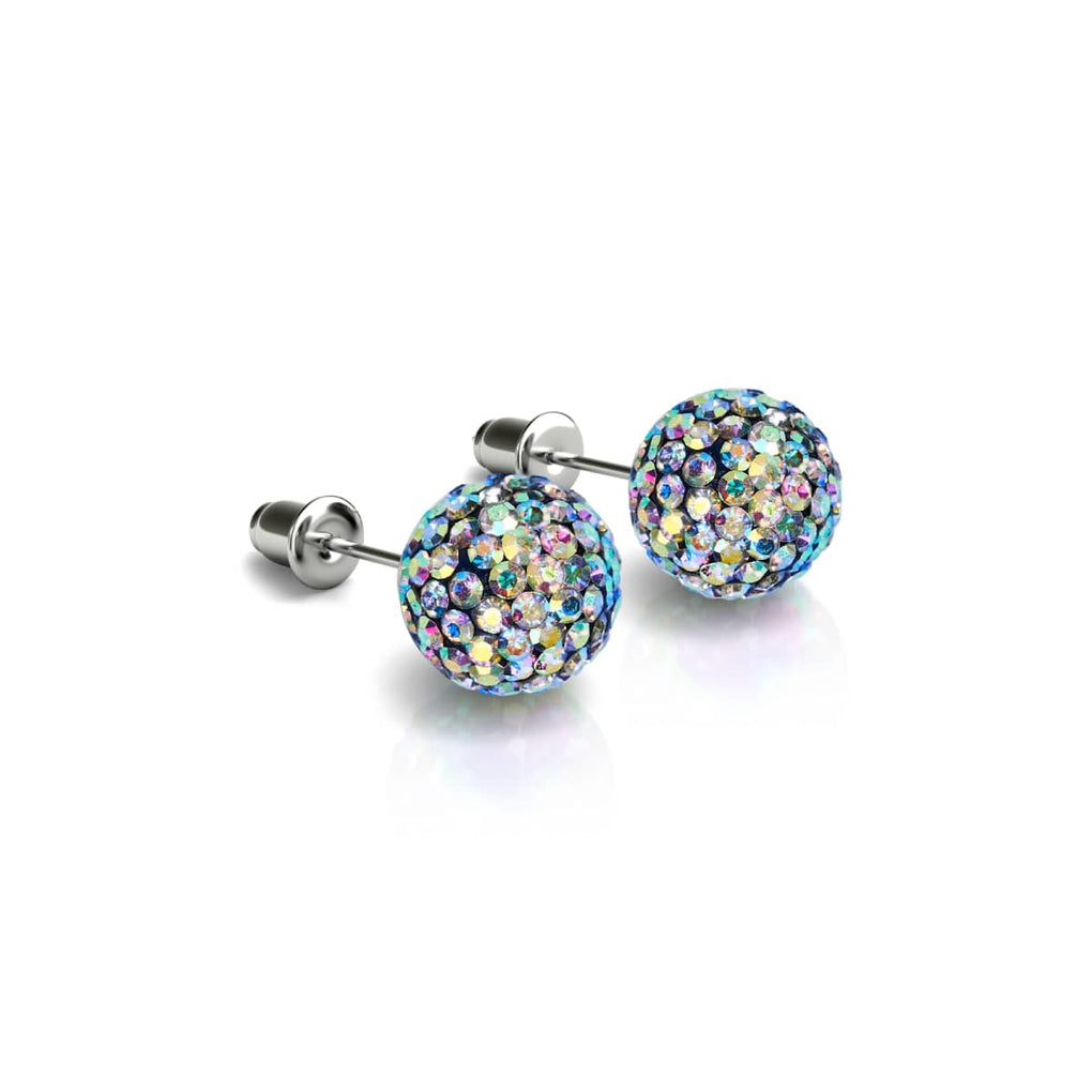 Sapphire Crystal | .925 Sterling Silver | Kikiballa Earrings