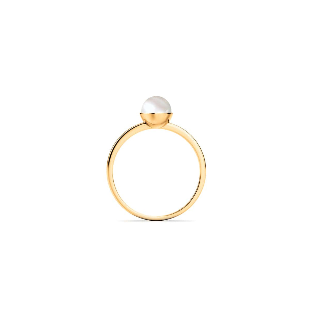 Gold Vermeil | Natural Pearl Ring