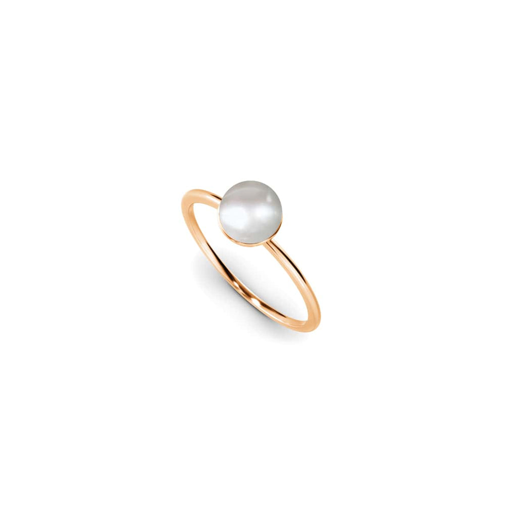 Rose Gold Vermeil | Natural Pearl Ring