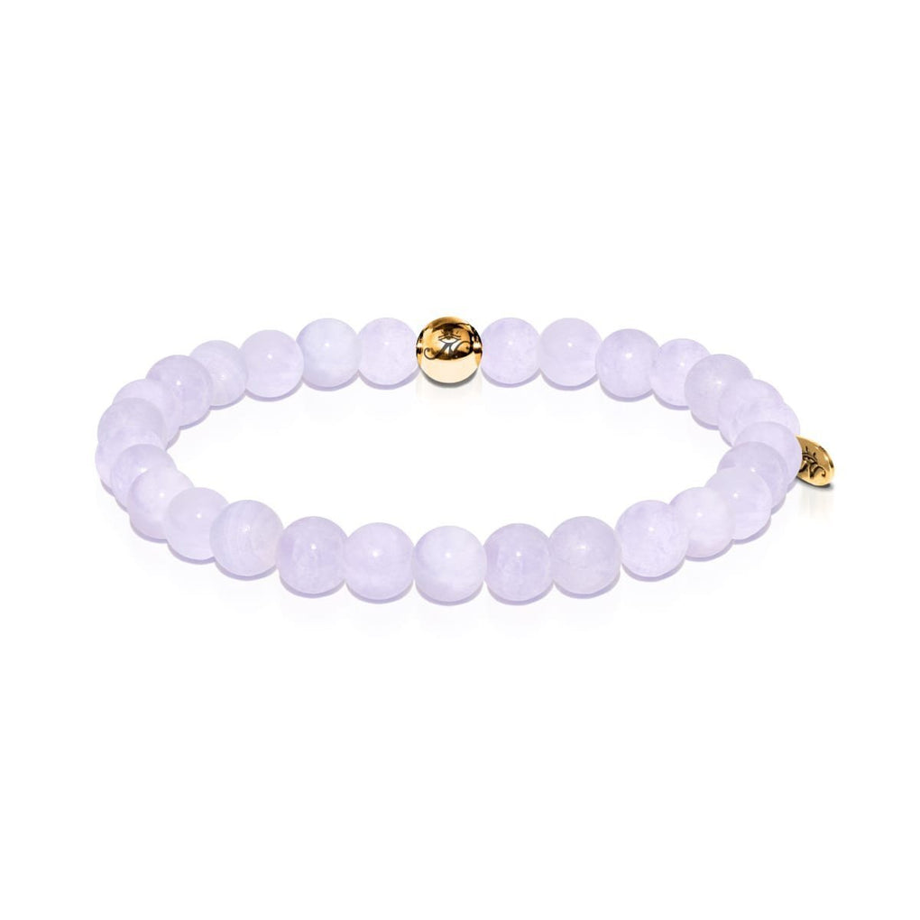 Cleanse | Gold Essence Blue Jade Bracelet