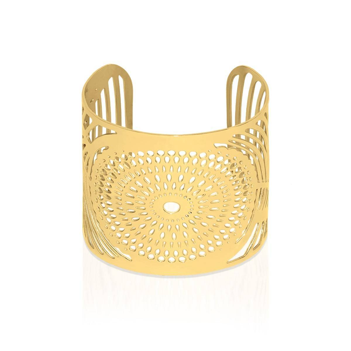 18k Gold | Sunrise | Laser Cut Cuff