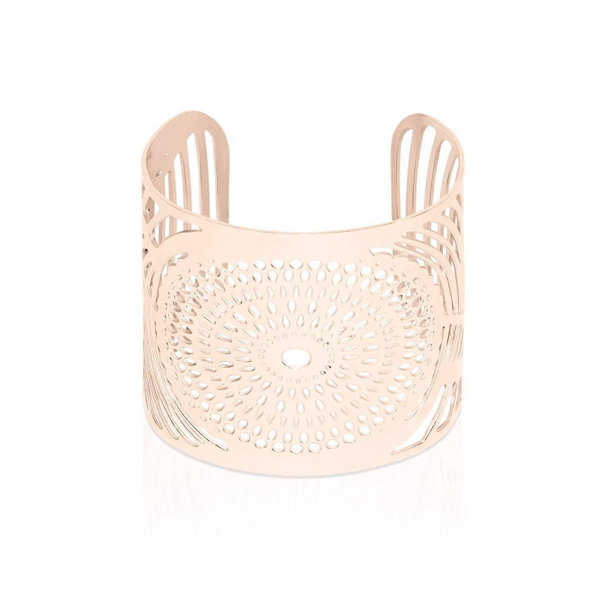18k Rose Gold | Sunrise | Laser Cut Cuff