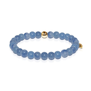 Health | Gold Essence Blue Aventurine Bracelet