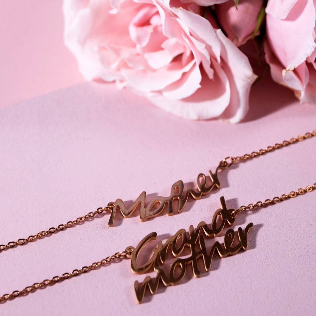 Grandmother | 18k Rose Gold | Necklace