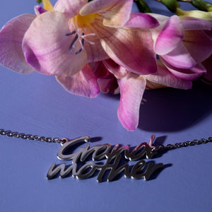 Grandmother | Silver | Necklace