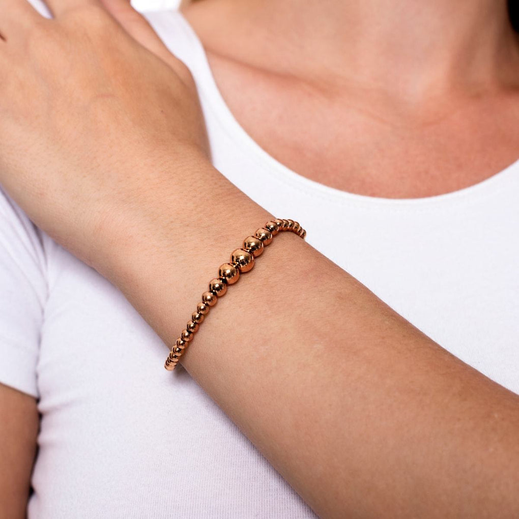 Enchanting | 18k Rose Gold Cascade | Expression Bracelet