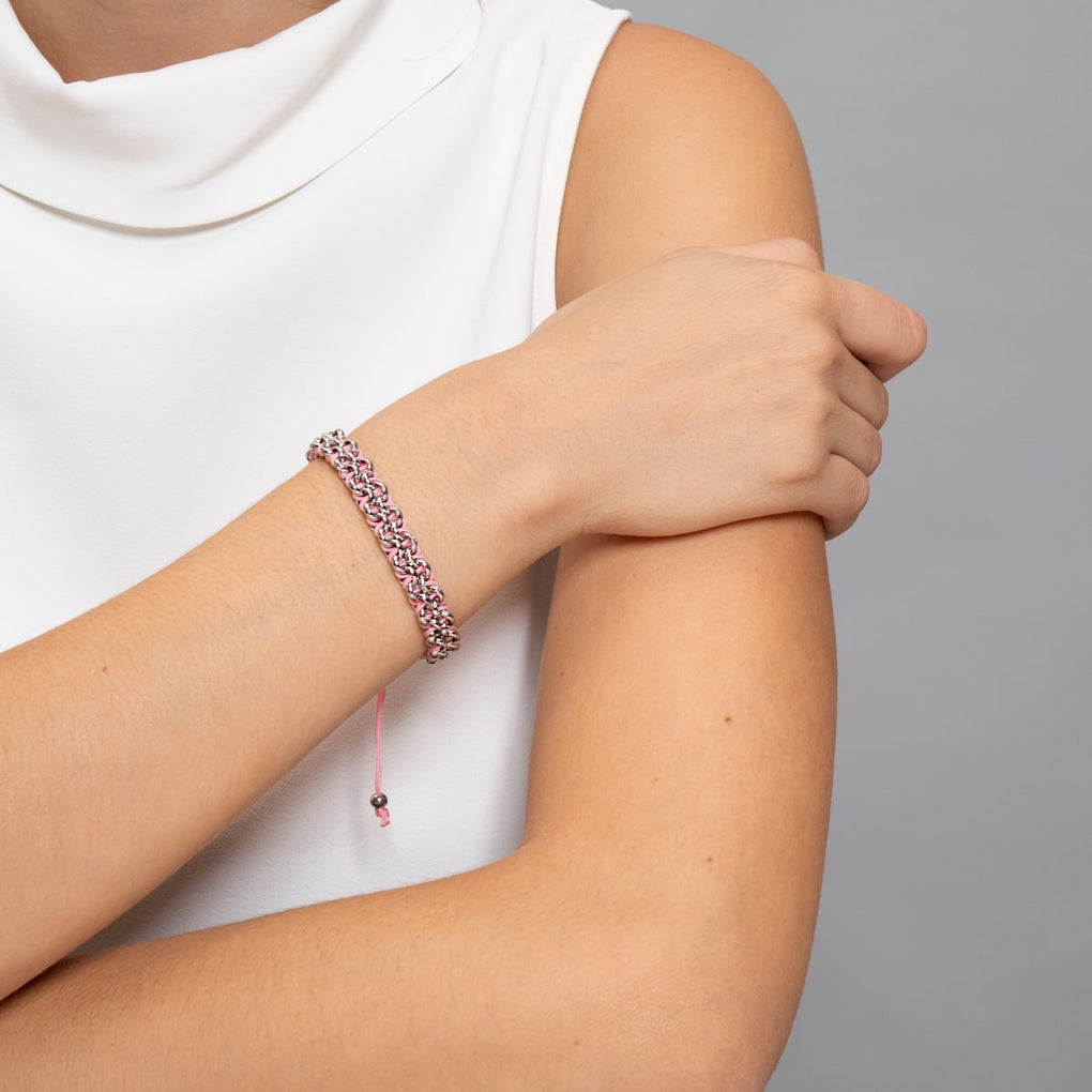 Kismet Links | Pantone Bracelet | Silver | Hope
