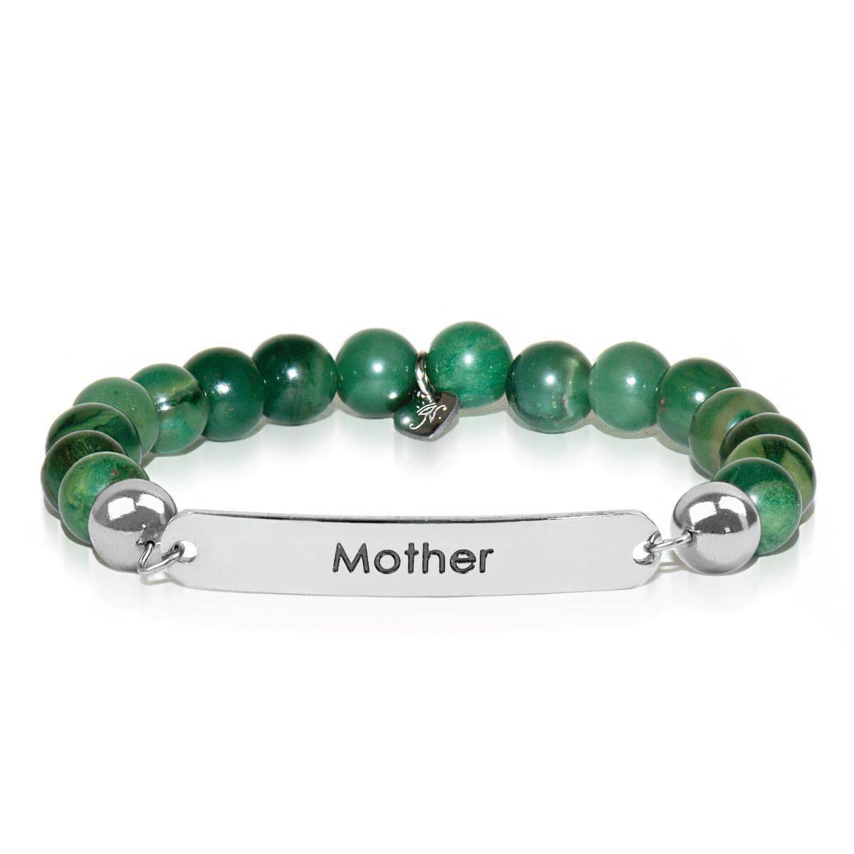 African Green Jade | Mother | Kindred Spirits Stone Bracelet