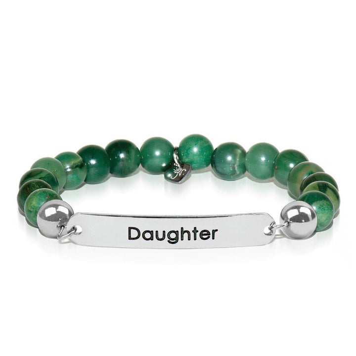 African Green Jade | Daughter | Kindred Spirits Stone Bracelet