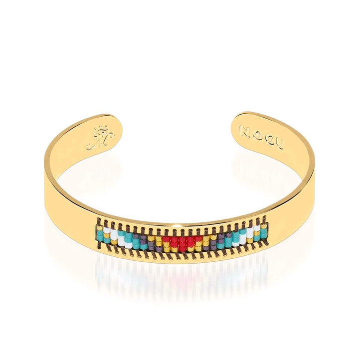 Palos Verdes Estates | 18k Gold | Boho Bangle