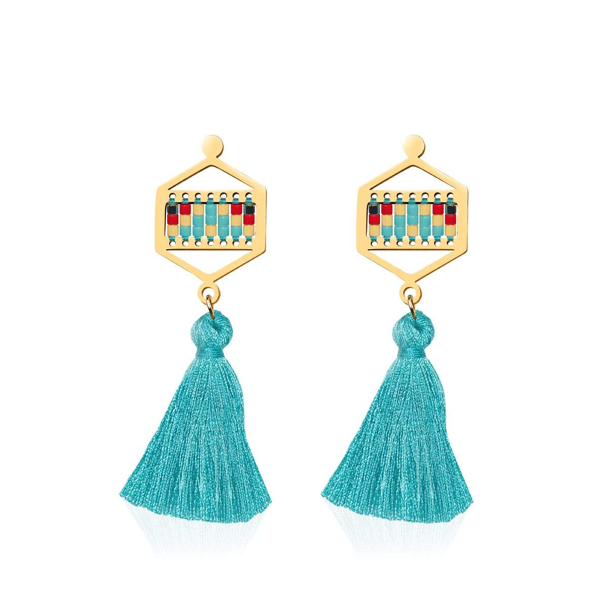Palos Verdes Estates | 18k Gold | Boho Fringe Earrings